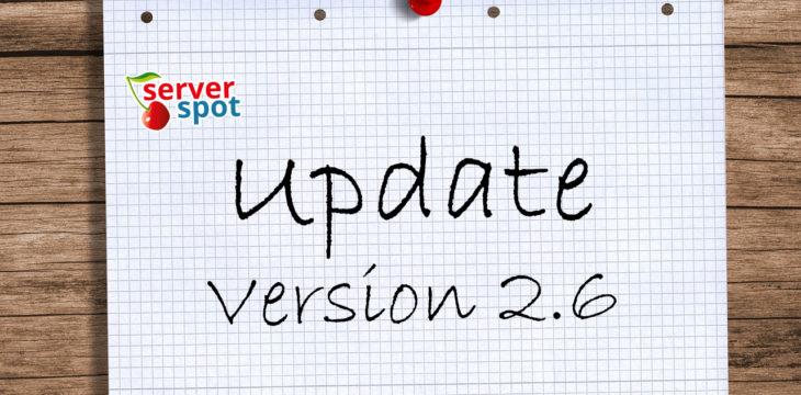 Neue Version 2.6