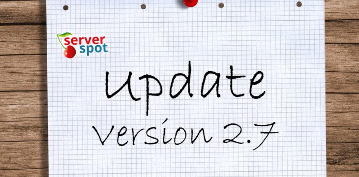 Neue Version 2.7