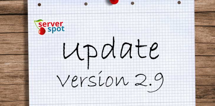 Neue Version 2.9